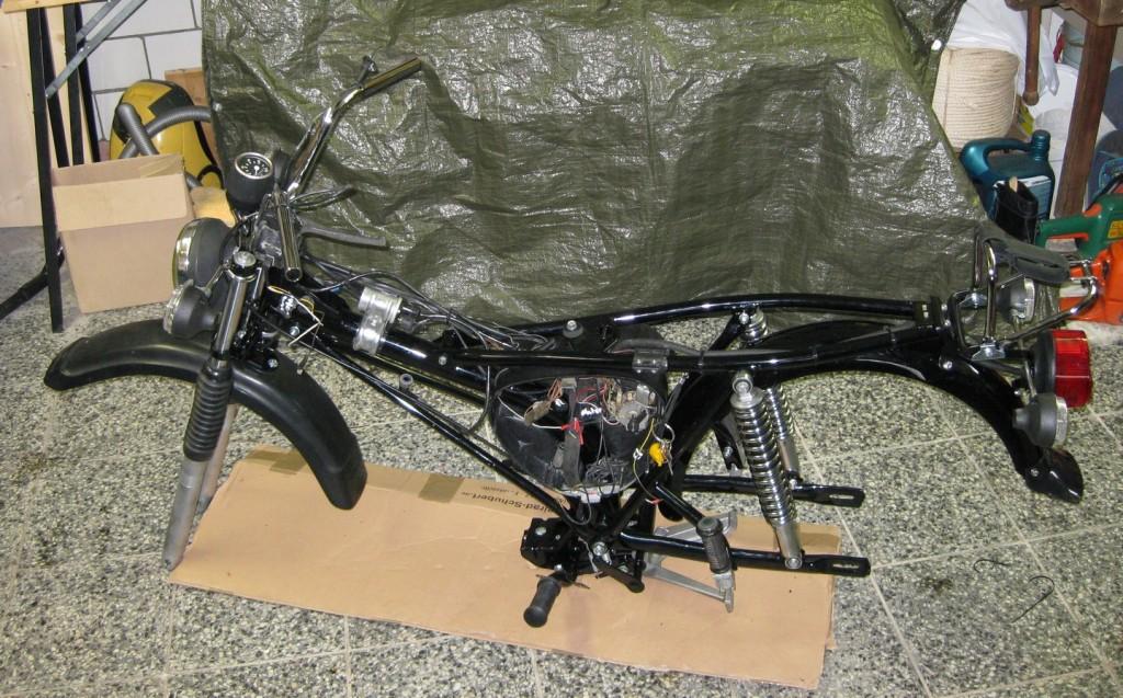 Zwischenstand Simson S51 Enduro Dezember 2011